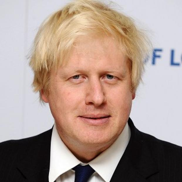 This Is Lancashire: London Mayor Boris Johnson attended a private dinner at Rupert Murdoch's home