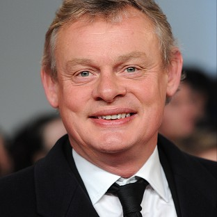Martin Clunes has had to get used to a different kind of horse power