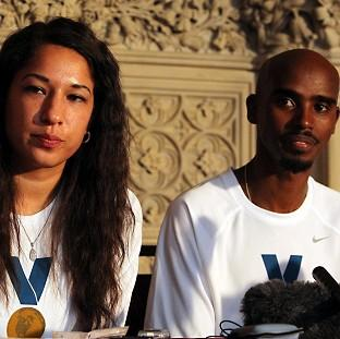 Mo Farah and wife Tania have criticised a cut in funding for school PE