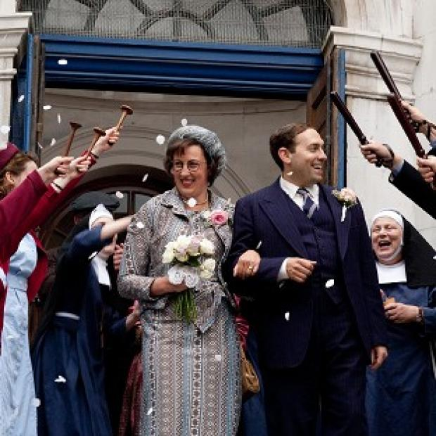 Call The Midwife writer Heidi Thomas keeps her scripts top secret - even from her husband