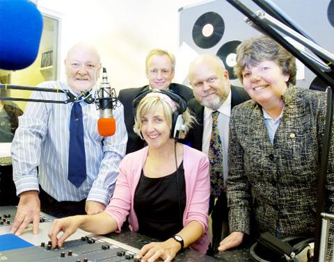 FLASHBACK Coronation Street star Julie Hesmondhalgh  opens Burnley Hospital Radio's new studio in 2007