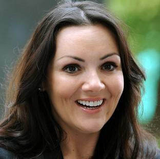 Martine McCutcheon has been declared bankrupt
