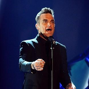 Robbie Williams will be performing at the ceremony