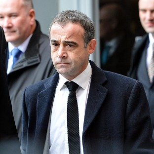 Coronation Street actor Michael Le Vell leaves Manchester Magistrates' Court, where he has appeared on child sex charges