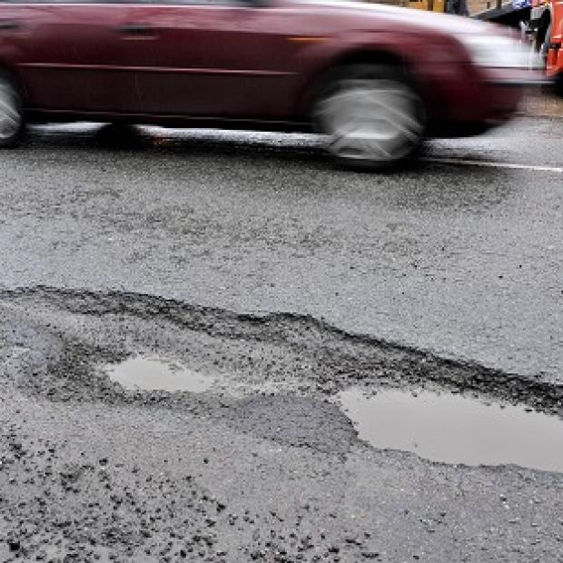 The cost of bringing Britain's crumbling roads back to good condition could be as much as ten and a half billion pounds, a report claims