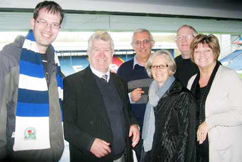 Blackburn Rovers fan meets club hero 40 years after moving to Australia