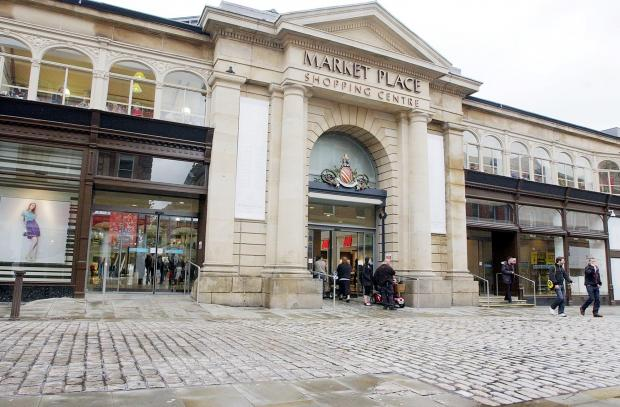 This Is Lancashire: The Market Place shopping centre