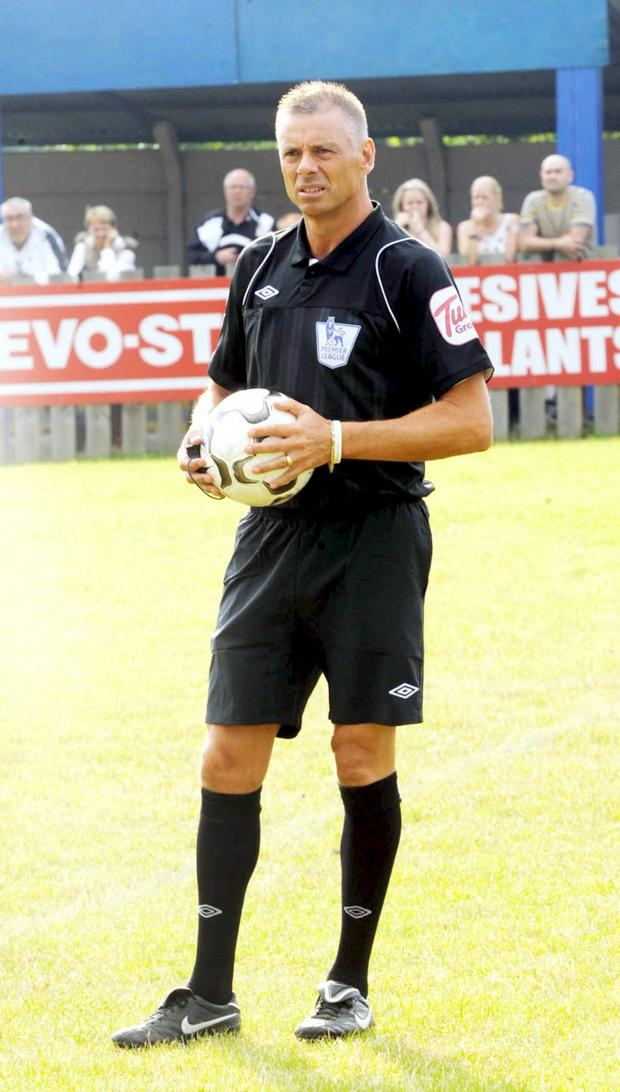 This Is Lancashire: Referee Mark Halsey takes on one of his toughest challenges yet