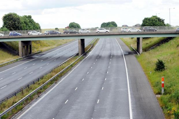 Lanes closed on M60 EVERY day last year – but M61 fared better