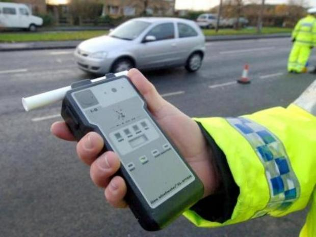 This Is Lancashire: Police saw Nelson drink-driver crash car