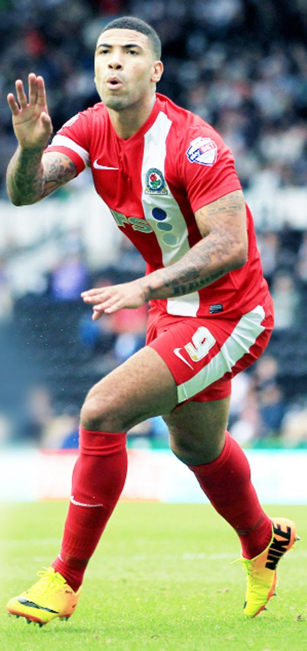 This Is Lancashire: Leon Best, one of six Rovers players to be listed