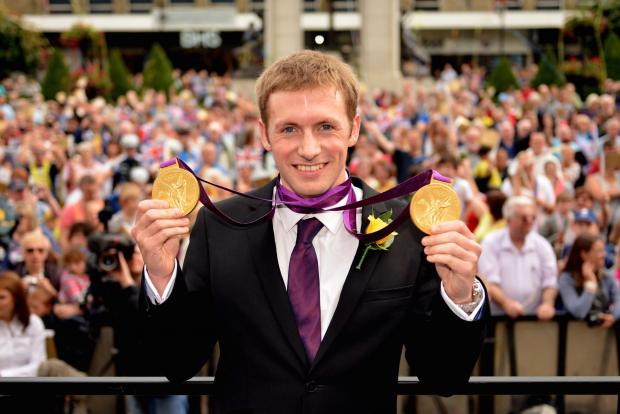 This Is Lancashire: Jason Kenny with his gold medals