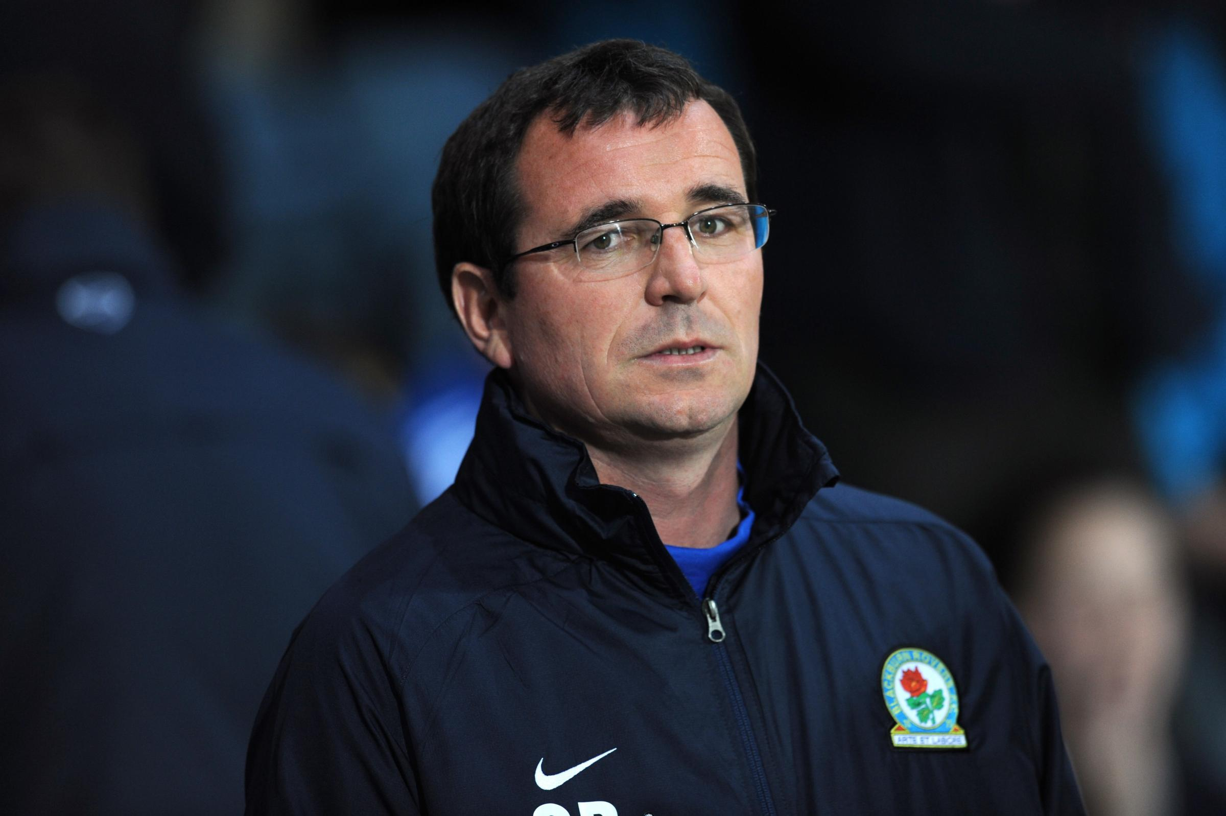 Rovers boss Gary Bowyer