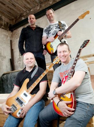 Businessmen let their hair down to form rock covers band The Chilli Monkeys