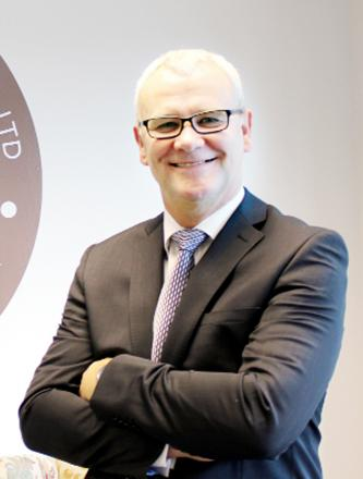 Managing director of Herbert Parkinson Stuart McDonald