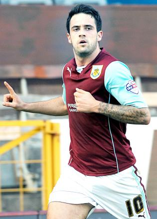 Danny Ings scored against Leicester in December
