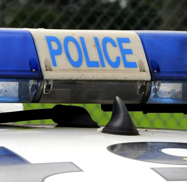 Lane blocked following A666 crash