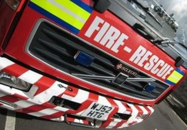 This Is Lancashire: Nelson man rescued after trying to battle fire