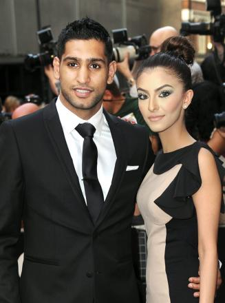 Boxer Amir Khan and wife Faryal