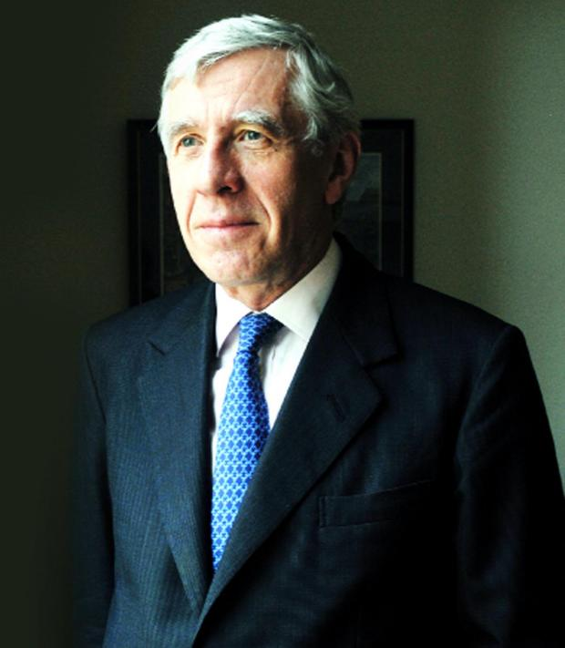 This Is Lancashire: The current MP for Blackburn, Jack Straw
