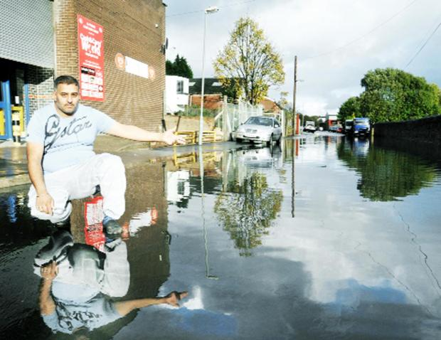 Anger as Blackburn business flooded again