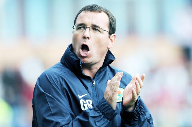 Blackburn Rovers boss Gary Bowyer