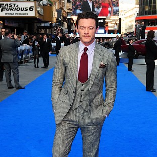 Luke Evans admitted moving from stage to screen was nerve-wracking