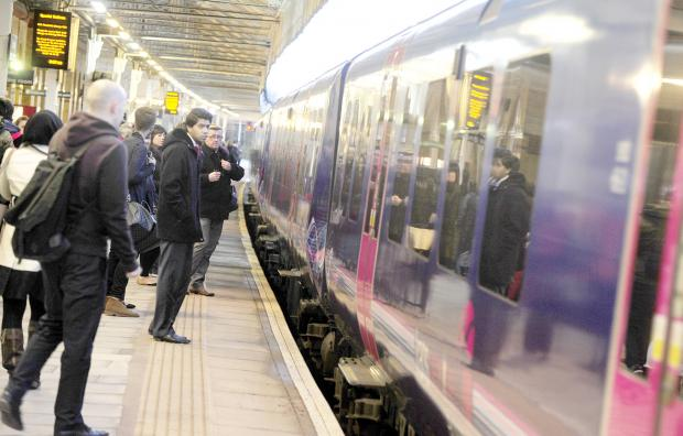 Commuters delayed after man steps in front of train