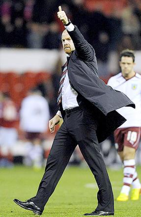 Burnley boss refusing to look ahead as Clarets close in