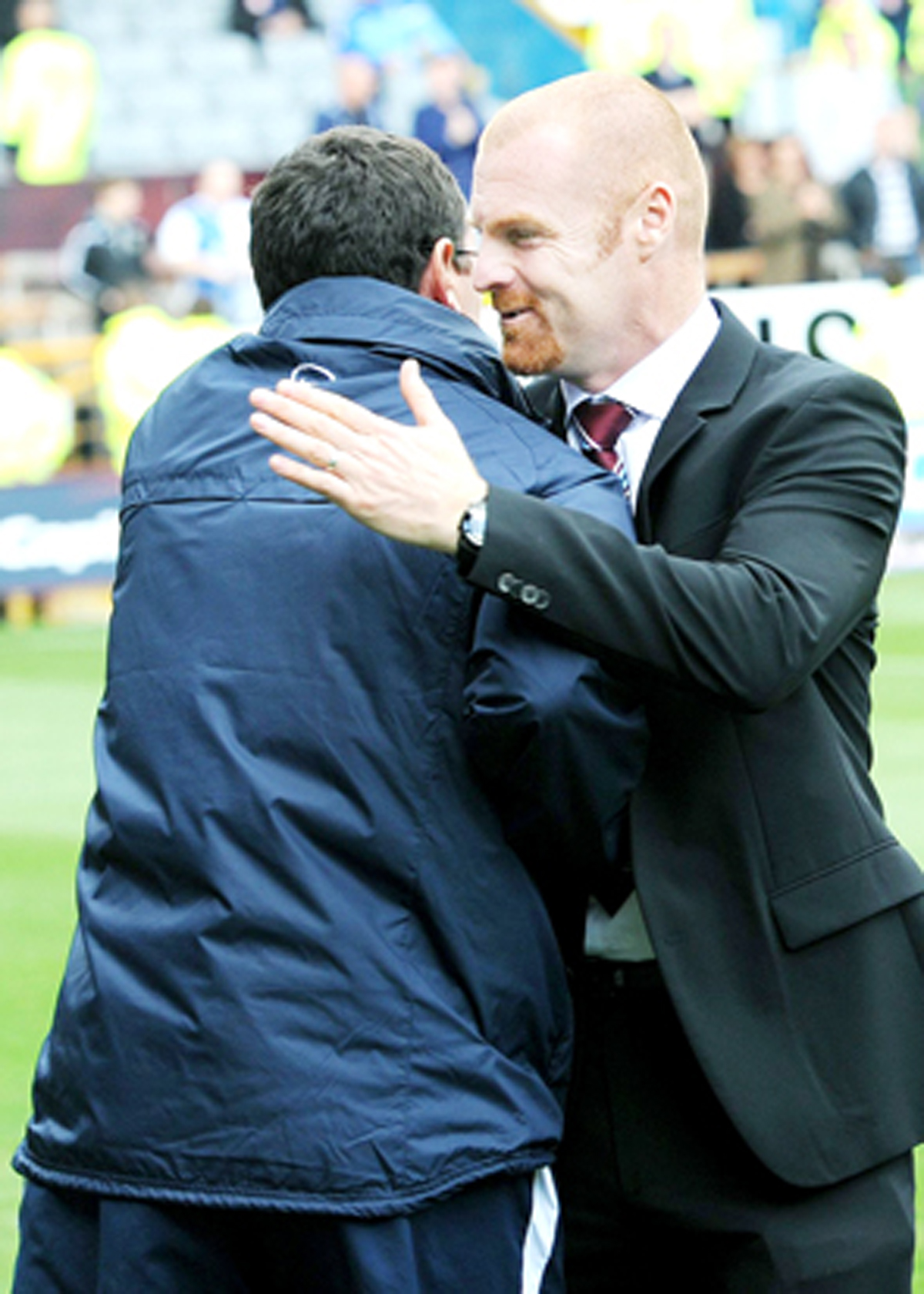 Gary Bowyer and Sean Dyche