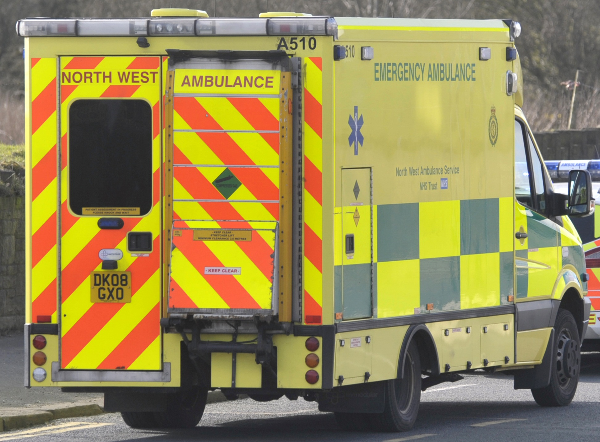 Elderly man rescued after falling through floorboards at his Sharples home