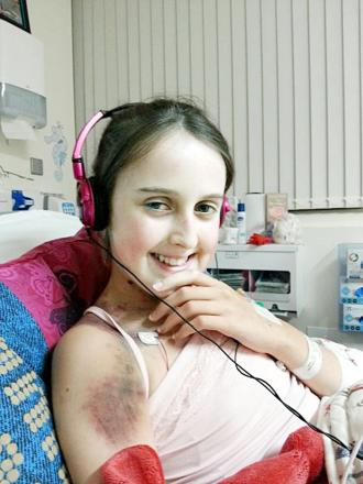Emily had been on the waiting list for a transplant for several months