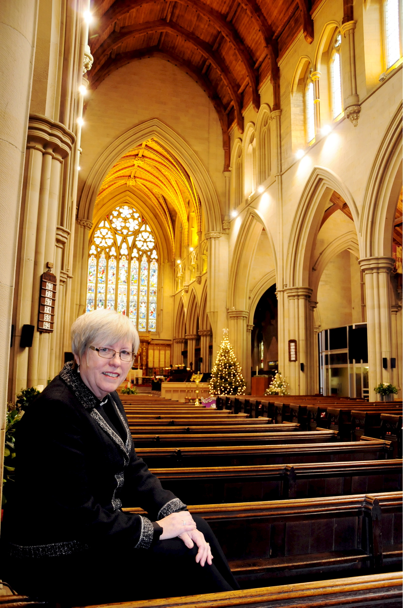 Reverend Judie Horrocks takes time to reflect on her time at Bolton Parish Church