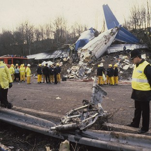 The Kegworth air disaster in Leicestershire