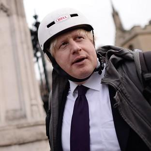 This Is Lancashire: Mayor of London Boris Johnson used a radio programme to poke fun at Deputy Prime Minister Nick Clegg.
