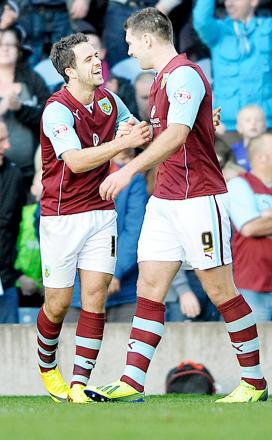 Burnley end Bolton hoodoo as Vokes-Ings partnership hits 40-goal mark