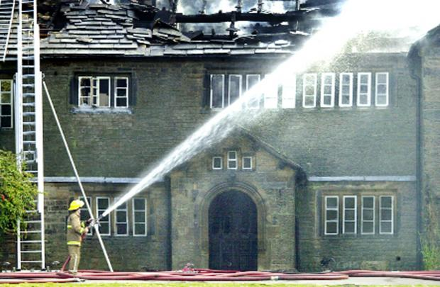 Holme Hall, Cliviger, was attacked by an arsonist in 2004 and has now been sold with a view to creating apartments