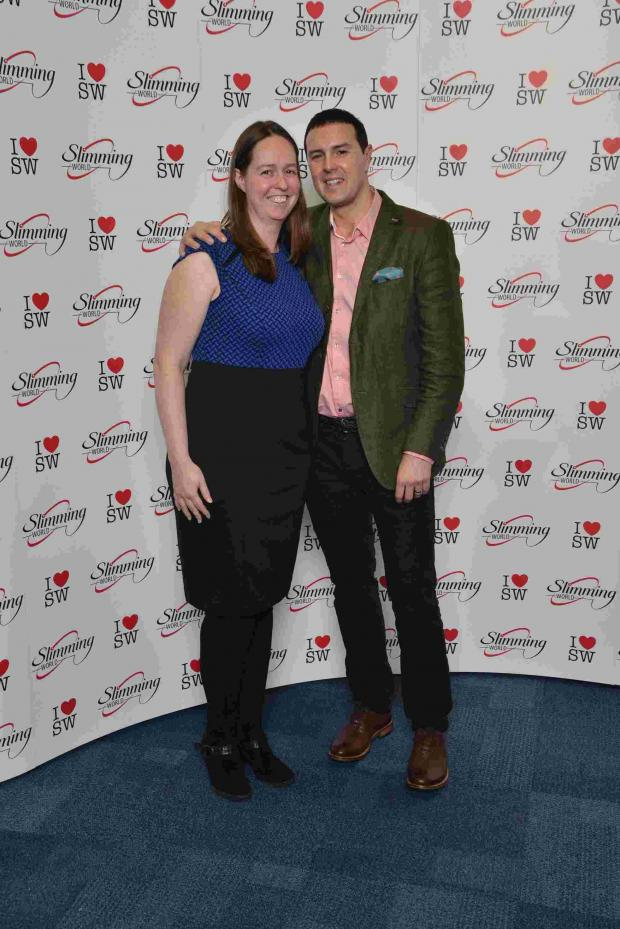 This Is Lancashire: Slimming consultant meets comedian Paddy McGuinness