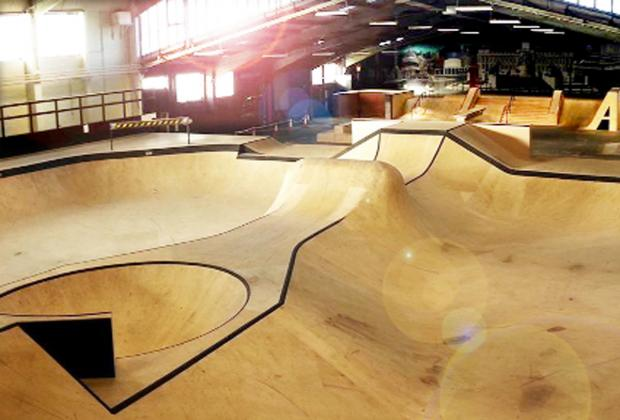 This Is Lancashire: Ruish Skatepark, Stroud, which will be similar to the Blackburn skatepark as it shares the same designer