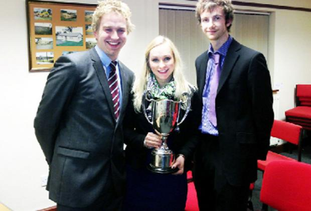 Ben Hartley, Louise Hartley and John Walmsley