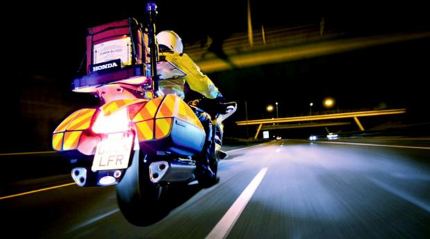 This Is Lancashire: Volunteer blood bikers save East Lancashire NHS thousands