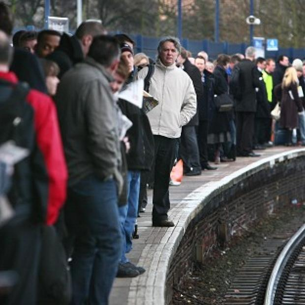 This Is Lancashire: Many passengers suffered delays on the trains during the festive period