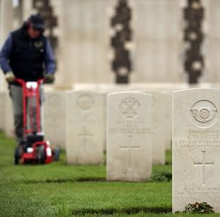 This Is Lancashire: The Tyne Cot Cemetery and Memorial in Ypres, Belgium, as the Commonwealth War Graves Commission prepares for the centenary of the outbreak of the First World War