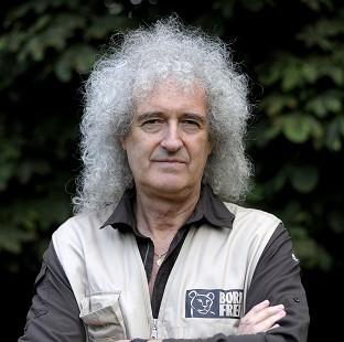 This Is Lancashire: Brian May says he has had good news after medical tests