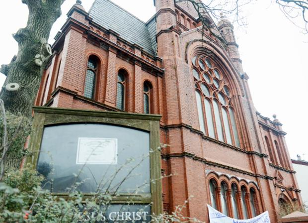 The historic Leamington Road Baptist Church