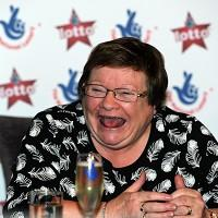 This Is Lancashire: Doreen Hay, 70, previously won 1,300 pounds by matching five numbers on the National Lottery, but has now gone one better