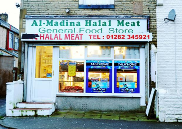 This Is Lancashire: Al-Madina Halal Meat, in Queen Victoria Road