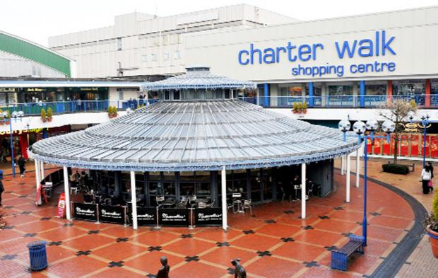 CCTV has been installed at Charter Walk shopping centre to combat theft