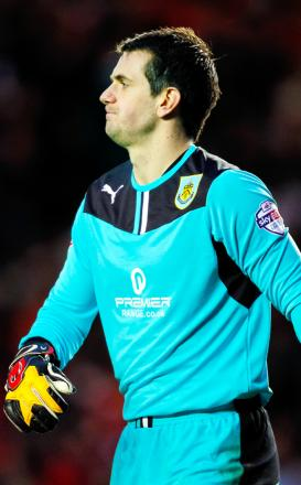 Tom Heaton got nine out of 10