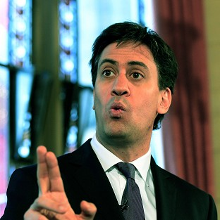 Bank shares dip after Miliband plan